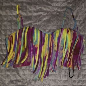 bebe colorful top